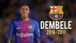 Ousmane Dembele - Magical Skills • Welcome to FC Barcelona! 2017 • HD