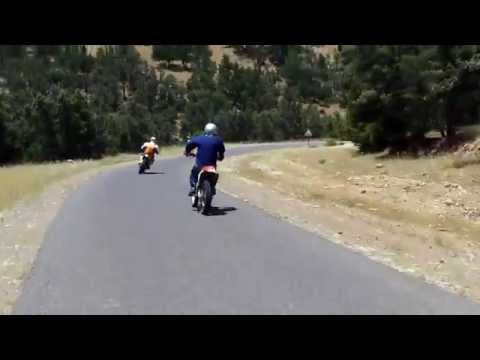 Morocco motorcycle road trip