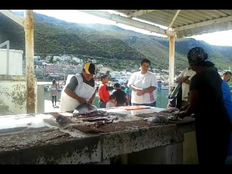 Daily life in Kalk Bay. Cape Town, South Africa