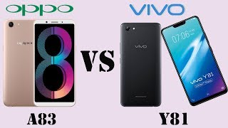 Difference Between Oppo A83 vs Vivo Y81 || Specifications Comparison || First Look || Who is Best