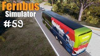 Fernbus #59 Noch ne Polizeikontrolle | München - Stuttgart ☆ Let's Play Fernbus Simulator