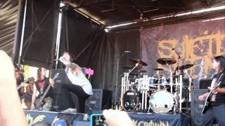 Suicide Silence Wake up live at Mayhem Fest 2011