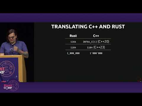 The Symbiotic Relationship of C++ and Rust