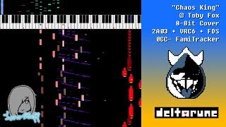 DELTARUNE: Chaos King (8-Bit 2A03 + VRC6 + FDS Cover)