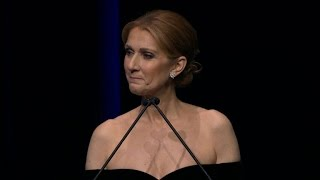 Watch Celine Dion's Beautiful Speech at Rene Angelil's Memorial Service