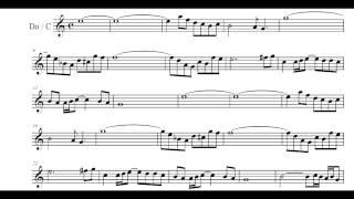 Air - Bach [Play Along] [C sheet music]