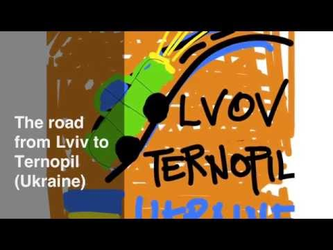 Driving from Lviv to Ternopil, Ukraine – Terrible