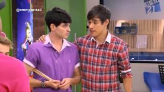 Violetta 1 - Los chicos le dicen a León que Violetta quiere regresar con él (01x70-71)