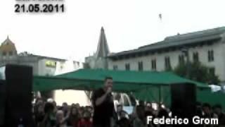 Barcelona. Asamblea del 21 de mayo / Federico Grom - Clase contra Clase / #spanishrevolution