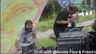 Inside Pico Live - 22.07.2012 @Double Face & Friend's [Inside Pico - Fk Bass (Intro live Edit)]