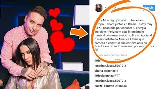 J Balvin con la ex de Maluma Anitta | Anitta indirecta para Maluma