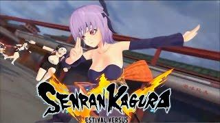 Senran Kagura - Ayane Gameplay