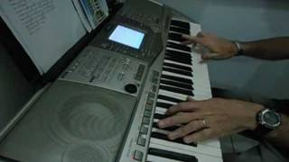 sacrificio e adoração- (video aula) introdução teclado claudinho