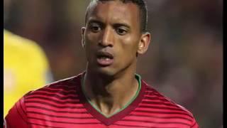 Portugal - Islândia golo de Nani relato Antena1