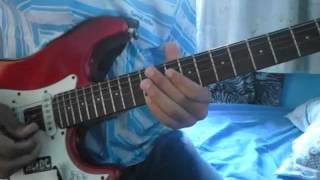Red Hot Chili Peppers - Dark Necessities Solo Cover
