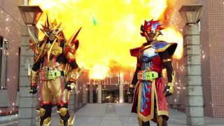 Kamen Rider Ex-Aid:  Double Rider Kick Finish