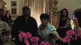 "Stevie Wonder sings ""That Girl"" to Patti Labelle for her birthday."