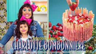 CHARLOTTE COM BISCOITO POCKY CASEIRO | ANOS 80 | RAIZA COSTA