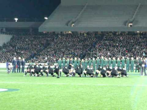 Haka do All Balcks  X South Africa – Rugby