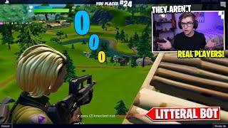 I Spectated a REAL AI BOT on Fortnite Mobile... (shocked 😱)