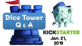 Live Q & A with Tom Vasel - January 21, 2019 (Kickstarter Edition!)