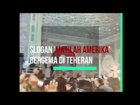 "Tegang, Iran Tabuhkan ""Perangi"" Amerika"