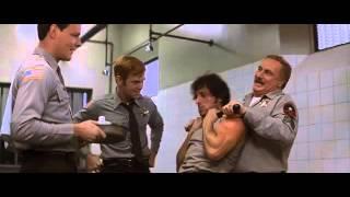 Rambo I 1982 fuga dalla centrale di polizia