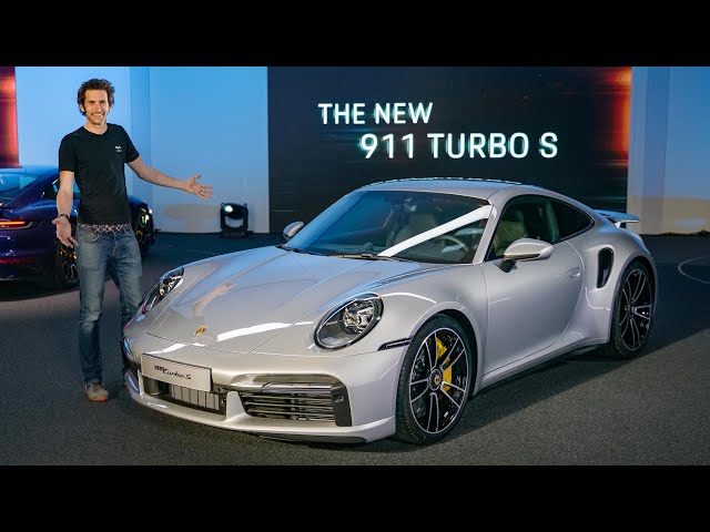 NEW Porsche 911 Turbo S (992): In-Depth First Look   Carfection 4K