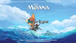 Auli'i Cravalho - How Far I'll Go From Moana (lyrics)