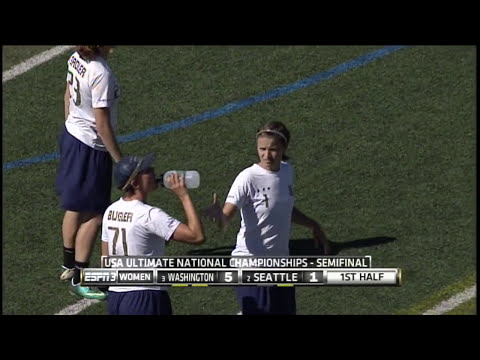 Video Thumbnail: 2013 National Championships, Women's Semifinal: Seattle Riot vs. Washington D.C. Scandal