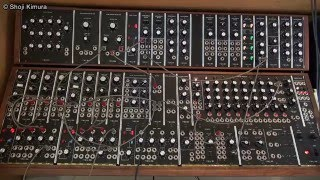 Moog System 55 冨田勲風 ①鐘の音色 Isao Tomita style bell sounds