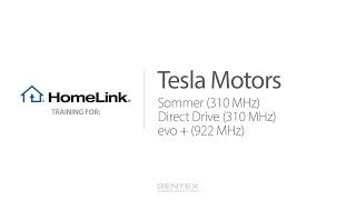 Tesla Motors - 310 MHz Sommer, Direct Drive, & evo + Garage Doors video poster