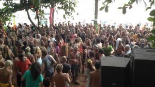 GOA, Anjuna beach Psychedelic trance party