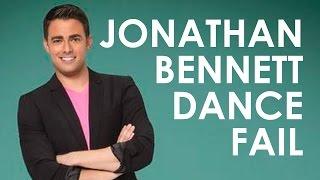 Jonathan Bennett - Epic Dance Fail (original)