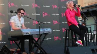 Ellie Goulding - Your Song (acoustic) Live @ the grove 4/20/2011
