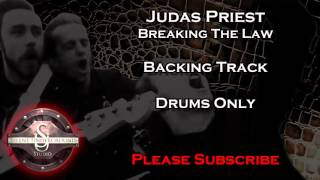 Judas Priest - Breakin'  The Law - Backing Track Drums Only