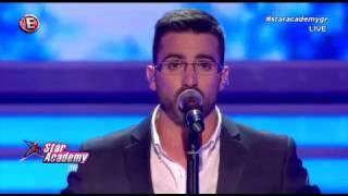 """Στο 4ο live, ο Στυλιανός τραγούδησε """"Φεύγω"""""""