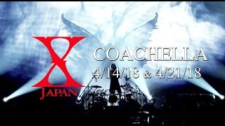 Yoshiki's return to drums! X Japan to perform at Coachella 2018
