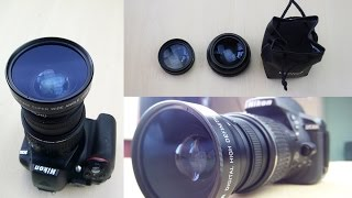 Unboxing & Test: Neewer 52mm Macro + Super Wide Lens