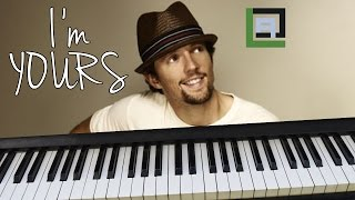I'M YOURS (Jason Mraz) - LACrrangement Piano Cover