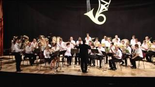 ZUŠ Bojnice,Veľký dychový orchester HORNONITRIE,J.Brahms-Uhorský tanec