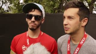 UNSEEN twenty one pilots Interview + Holding On To You