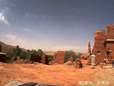 Dash cam video of Telouet to Ouzoud (Morocco) – part 1