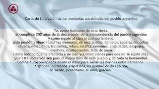 Carta de Liberación de las memorias ancestrales del pueblo argentino