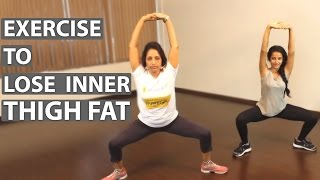 5 Best Exercises To Lose INNER THIGH FAT At Home