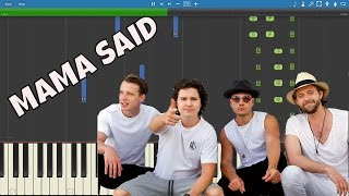 Lukas Graham - Mama Said - Piano Tutorial