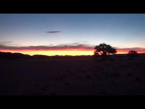 Sunset Sesriem – Namibia