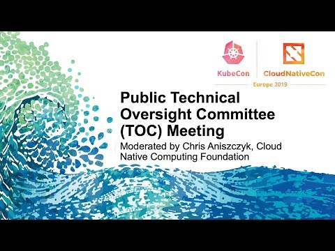Public Technical Oversight Committee (TOC) Meeting