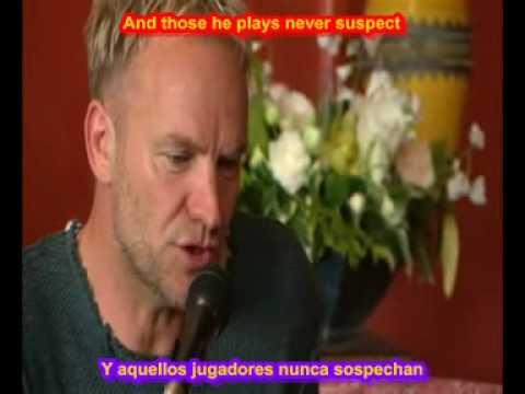 SUBTITULADA STING SHAPE OF MY HEART SUBTITULOS ESPAÑOL INGLES