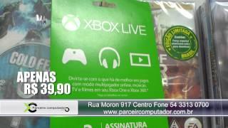 Cartão XBOX LIVE ASSINATURA NA PARCEIRO COM PREÇO FANTÁSTICO